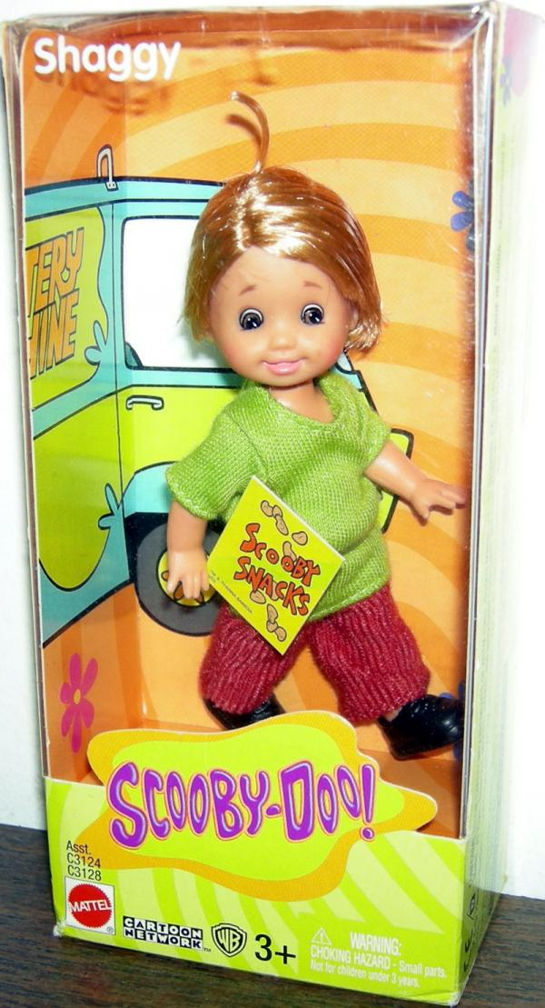 Tommy Shaggy Scooby-Doo Barbie action figure doll