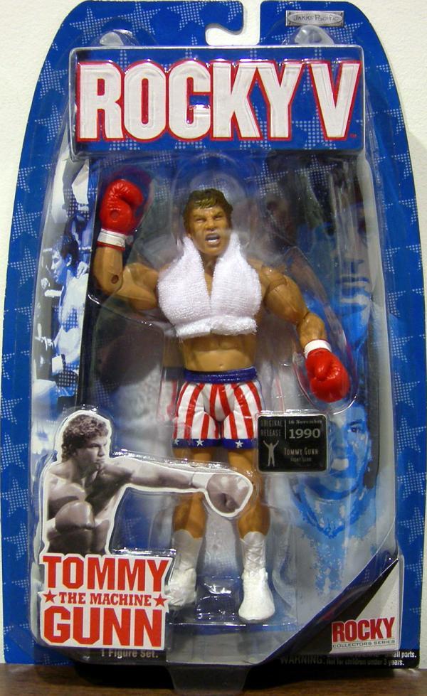 Tommy Machine Gunn Rocky V action figure