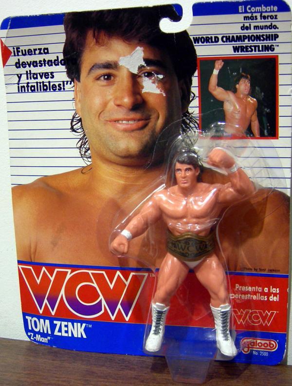 Tom Zenk Z-Man WCW Galoob action figure
