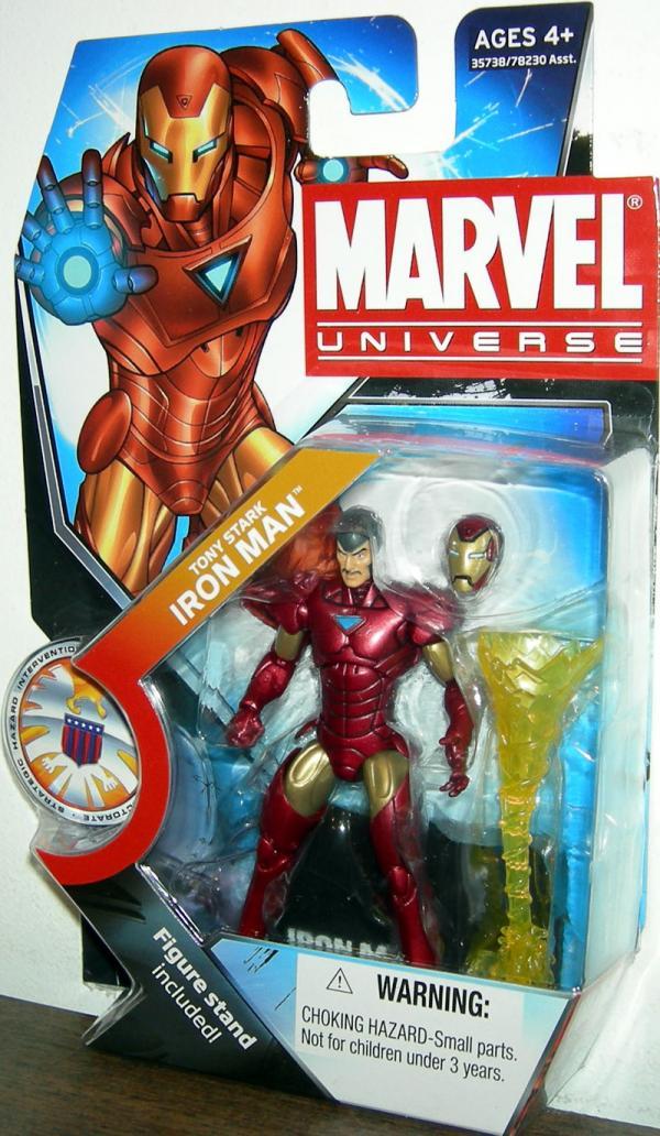 Tony Stark Iron Man Marvel Universe Series 3 022 action figure