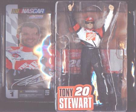 Tony Stewart Hat Sunglasses McFarlane Nascar SportsPicks Series 1 action figure