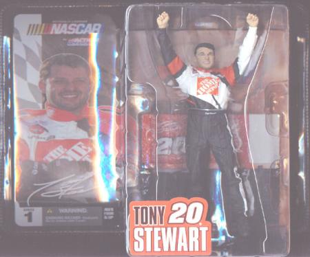Tony Stewart McFarlane Nascar SportsPicks Series 1 action figure