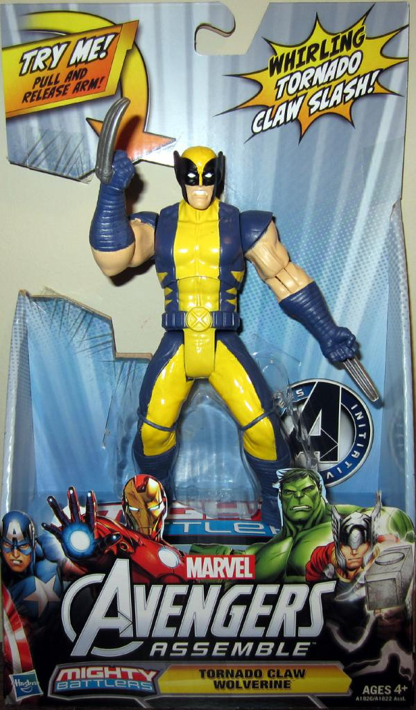 Tornado Claw Wolverine Avengers Assemble action figure