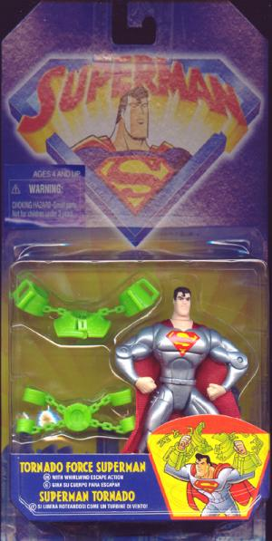 Tornado Force Superman Animated Whirlwind Escape Action figure