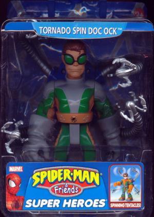 Tornado Spin Doc Ock Spider-Man Friends action figure
