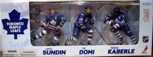 Toronto Maple Leafs McFarlane SportsPicks Canadian Walmart Exclusive action figures