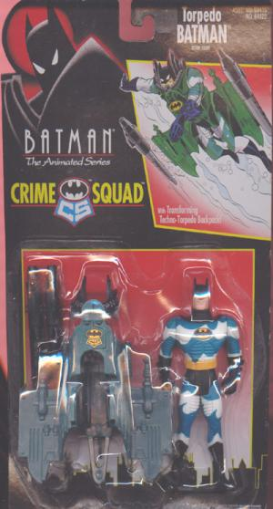 Torpedo Batman Animated Series Crime Squad action figure