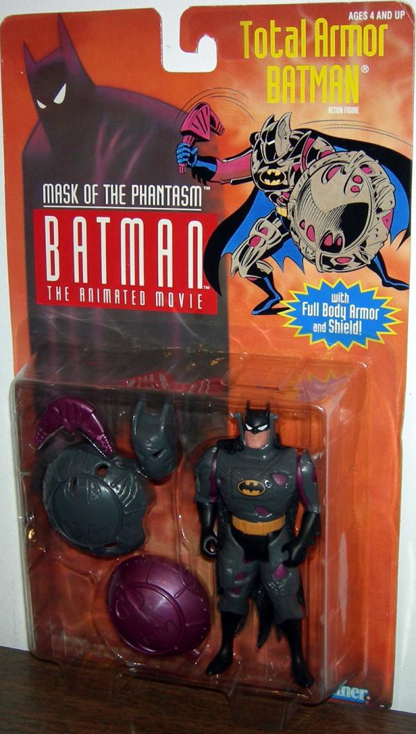 Total Armor Batman Mask Phantasm Animated Movie action figure