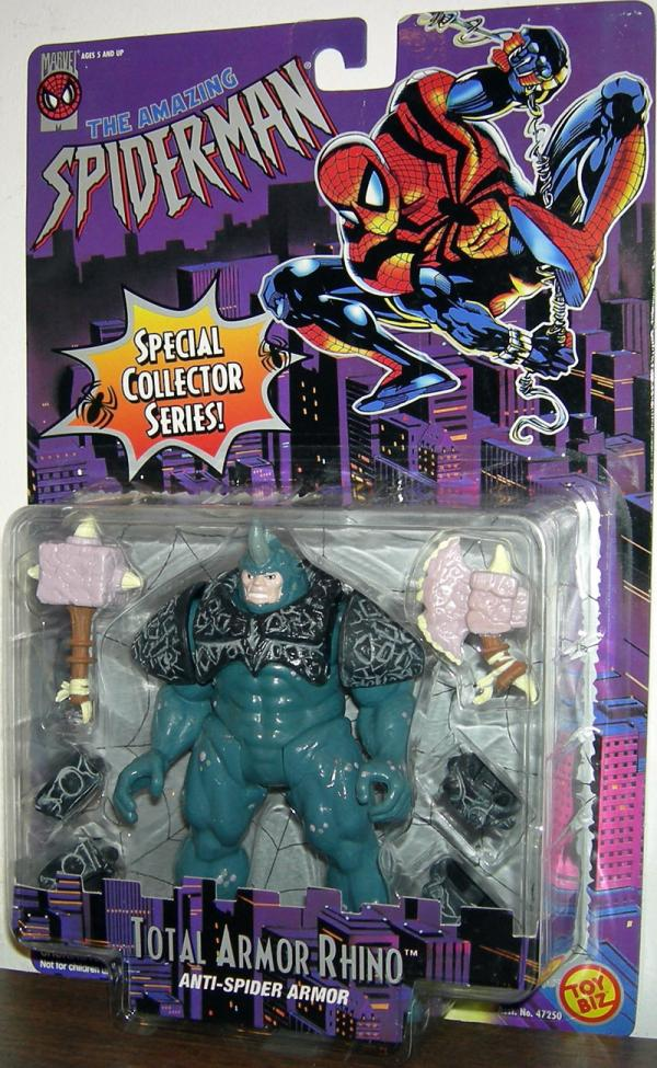 Total Armor Rhino Amazing Spider-Man action figure