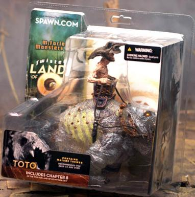 Toto McFarlanes Monsters Twisted Land Oz action figure