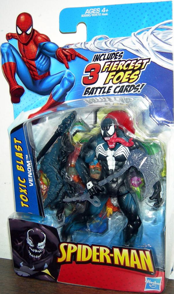 Toxic Blast Venom Tongue Sticking Out Spider-Man action figure