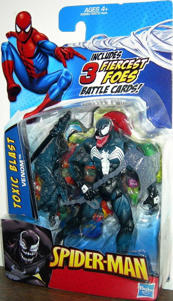 Toxic Blast Venom Spider-Man action figure