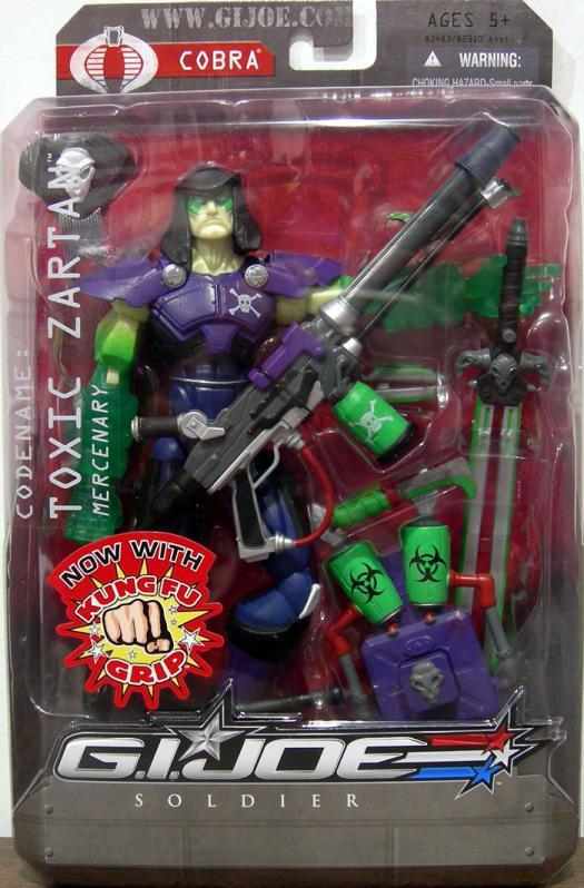 Toxic Zartan GI Joe Soldier Cobra action figure