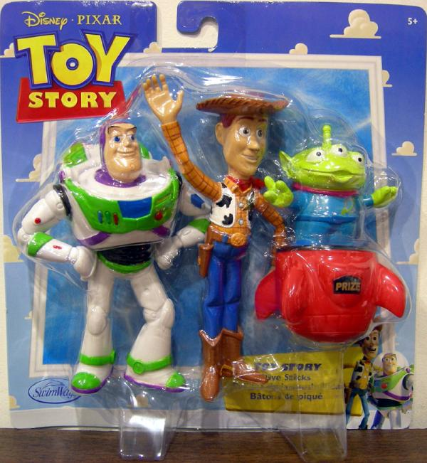 Toy Story Dive Sticks Disney Pixar action figures