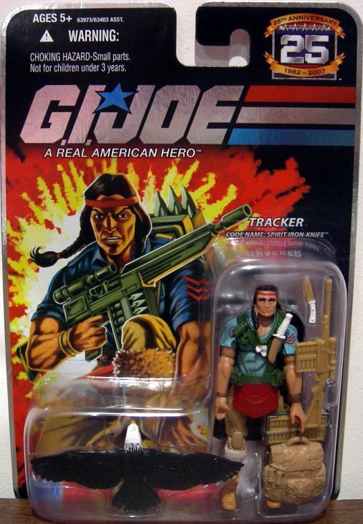 Tracker Code Name Spirit Iron-Knife GI Joe action figure