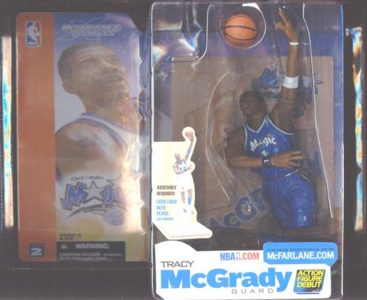 Tracy McGrady Series 2 Dark Uniform Chase Variant McFarlane SportsPicks action figure