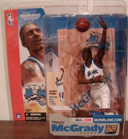 Tracy McGrady Series 2 McFarlane SportsPicks action figure