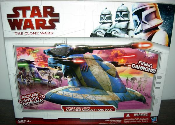 Trade Federation Armored Assault Tank AAT Star Clone Wars vehicle