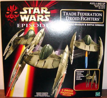 Trade Federation Droid Fighters Star Wars Episode 1 vehicles