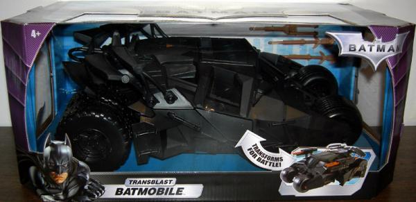 Transblast Batmobile Vehicle Batman Dark Knight Mattel