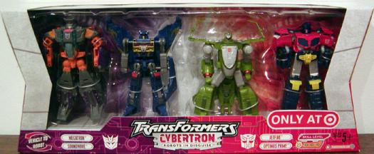 Transformers Cybertron Robots Disguise Target Exclusive action figures