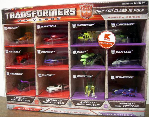 Transformers Universe Mini-Con Class 12 Pack Armada Series action figures