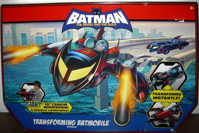 Transforming Batmobile Batman Brave Bold vehicle