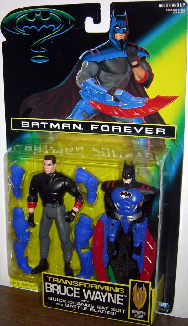 Transforming Bruce Wayne Batman Forever Movie action figure