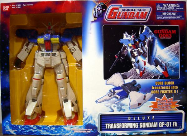 Transforming Gundam 0083 GP-01 Fb Deluxe Mobile Suit action figure