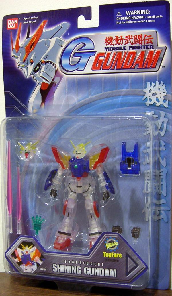 Shining Gundam Wizard Exclusive