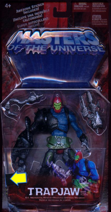 Trapjaw Masters Universe He-Man action figure