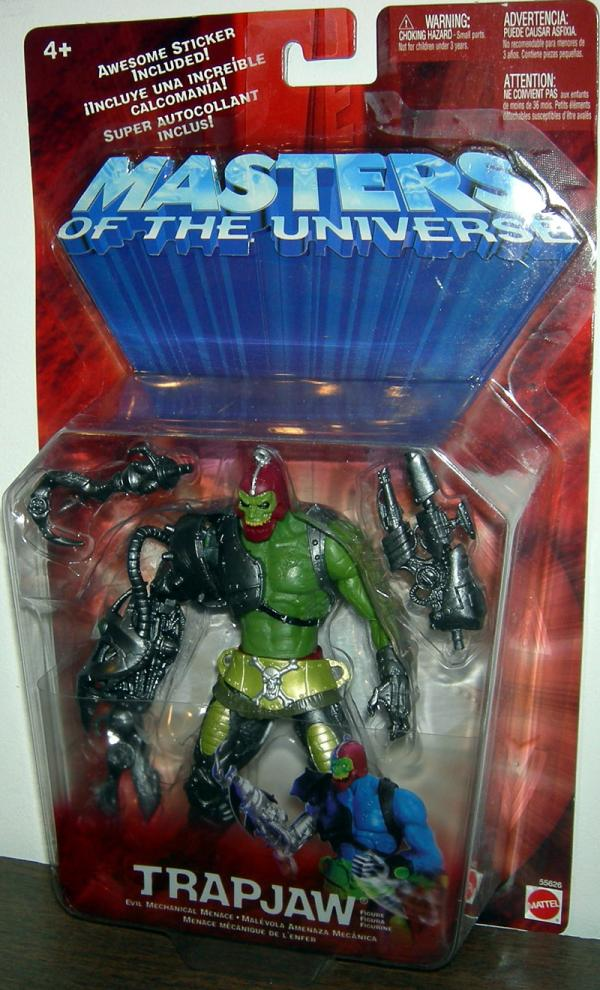 Trapjaw Repaint Masters Universe He-Man action figure