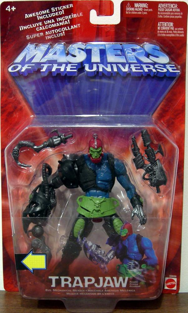 Trapjaw Chase Variant Masters Universe He-Man action figure