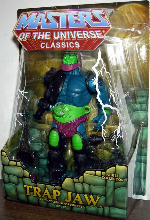 Trap Jaw Action Figure Classics Masters Universe He-Man