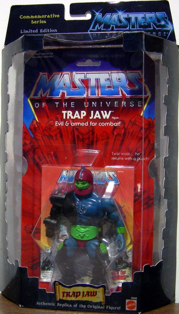 Trap Jaw Figure Commemorative Series Masters Universe He-Man