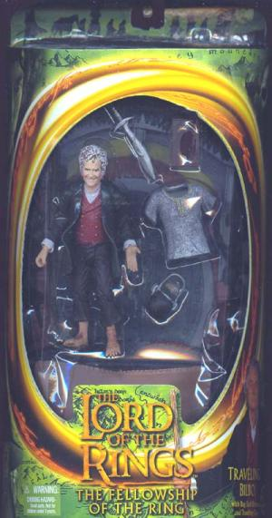 Traveling Bilbo Lord Rings Fellowship Ring action figure