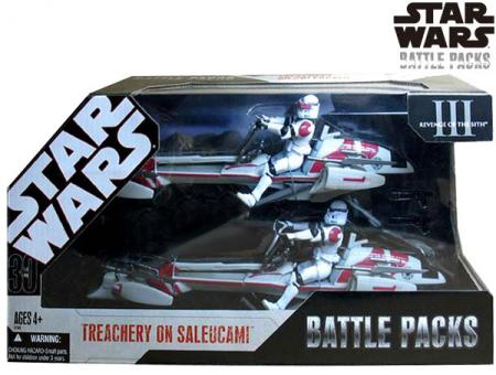 Treachery Saleucami Battle Packs Star Wars Revenge Sith action figures