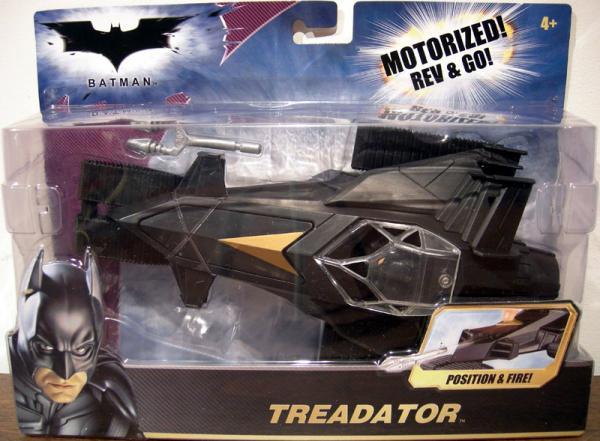 Treadator Batman Dark Knight Motorized Rev Go vehicle