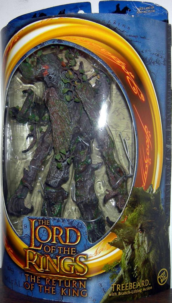 Treebeard Lord Rings Return King Branch-Lifting Action figure