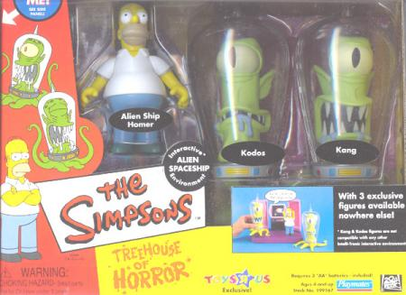 Treehouse Horror II Simpsons Toys R Us Exclusive action figures