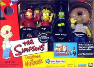 Treehouse Horror III Simpsons Toys R Us Exclusive action figures