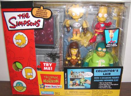 Treehouse Horror IV Simpsons Toys R Us Exclusive action figures