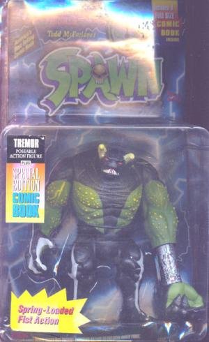 Tremor Repaint Lightning Card Spawn Series 1 action figure