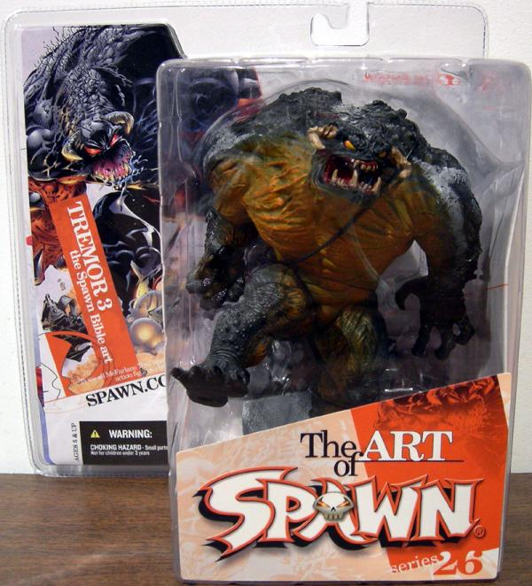 Tremor iSpawnbible AKA Tremor 3 Spawn Series 26 action figure