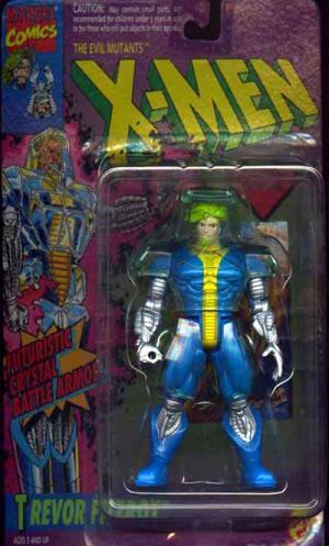Trevor Fitzroy Figure Evil Mutants X-Men Toy Biz