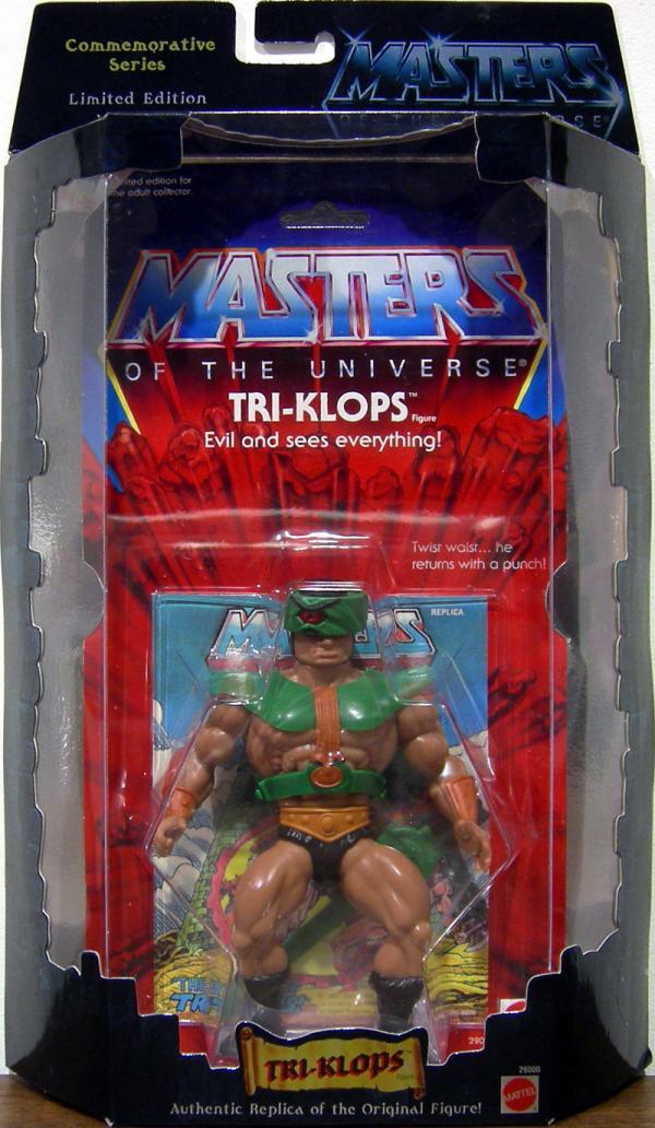 Tri-Klops Commemorative Series Masters Universe action figure