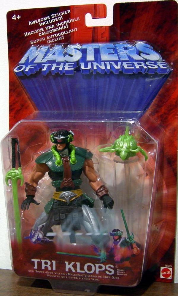 Tri-Klops Repaint Masters Universe He-Man action figure