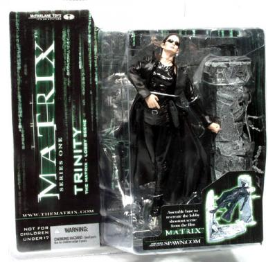 Trinity Matrix Series 1 action figure