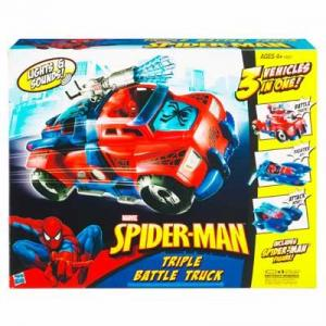 Spider-Man Triple Battle Truck Vehicle action figure