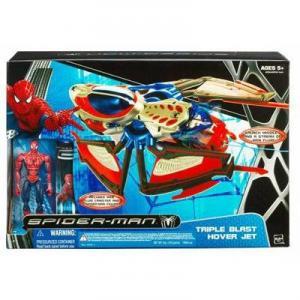 Triple Blast Hover Jet Spider-Man action figure vehicle